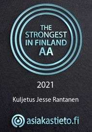 The strongest in Finland logo